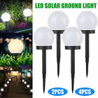 Flowerbed Solar Ground Ball Lights LED Path Patio Garden Decking Lamp Waterproof