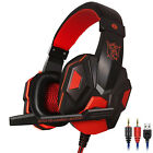 Gaming Headset Mic Headphone Stereo Bass Surround For PS4 Xbox One PC Nintendo