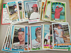 1972 TOPPS BASEBALL TRADING CARDS - YOU PICK FREE SHIPPING MULTI CARD DISCOUNT on Ebay