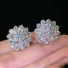 HOT Gorgeous Stud Earrings Women Crystal Wedding Jewelry Cubic Zircon A Pair/set