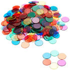 Transparent Discs Counters Kids Games Maths Learning Counters Aids Tools W