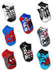 SPIDER-MAN MARVEL COMICS 8-Pack Low Cut No Show Socks NWT Kids Ages 4-8 or 8-16