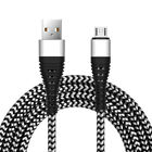 3 Pack Micro Type C Braided USB Charger Cable Sync For iPhone Samsung US Stock