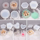 Silicone Jewelry Storage Box Mold Resin Casting Epoxy Holder Mould DIY Craft