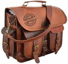 Messenger-Laptop-Satchel-S-Shoulder-Bag-Mens-Vintage-New-Brown-Genuine-Leather