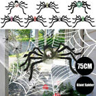 Giant Party Decor Halloween Spider Plush Spider Haunted House Halloween Prop