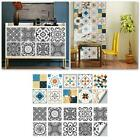 3D Visual Art Geometric Tile Decals Wall Stickers Self-Adhesive DIY Home Decor