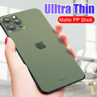 For Iphone 11pro Max Xs 8 7 6 Luxury Ultra-thin Slim Matte Hard Clear Case Cover