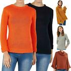 Brave Soul Womens Long Sleeve Jumper Turtle Neck Ribbed Ladies Stripe Casual Top