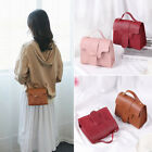 Mini Candy Color Shoulder Bag Small Square Pack Wallet Handbag Pu Leather