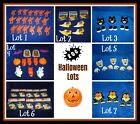 WILTON  HALLOWEEN VARIETY LOTS, fun for all cake decorating and craft decor
