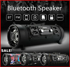 Wireless Bluetooth Speaker Portable Boombox Super Bass Stereo SD FM Radio AUX US