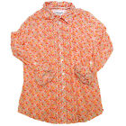 Aeropostale Womens Shirt Casual Top Button Up Long Sleeve Buttondown Blouse New