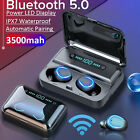 TWS Wireless Bluetooth 5.0 Headphones Mini Earphones In-Ear Buds IOS Android