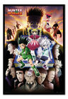 FRAMED Hunter X Hunter Book Key Art Poster Official Licensed 26x38"