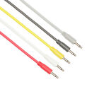 Pack of 5 x 3.5mm Custom Mono Patch Cables for Eurorack Modular Synths free P&P