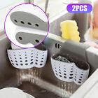 Kitchen Organizer Sink Caddy Basket Dish Cleaning Sponge Holder Soap Dispenser