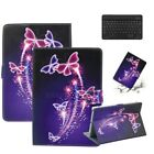 For iPad Amazon LG 10inch Tab Leather Stand Tablet Case Cover Wireless Keyboard