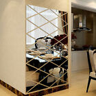 Diy 3d Stickers Full Body Mirror Wall Sticker Acrylic Decal Home Room  Decor Gbj