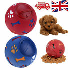 Pets Dog Puzzle Toy Tough-Treat Ball Food Dispenser Interactive Puppy Feeder UK