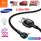 MCDODO Micro USB Cable Fast Charger Braided Data Sync Cord For Samsung Android