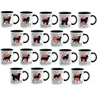 I Love My Dog Heart Mug Breeds Novelty Gift Xmas Idea for pet lovers him or her