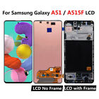 OEM For Samsung Galaxy A51 A515 A515F Display LCD Touch Screen Digitizer  Frame