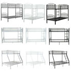 Twin Bunk / Triple Bunk Beds Metal Frame for Sleeper Children Kids Adults Beds