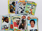 1977 1978 1979 1980 1981 1982 Topps Football Cards You Pick Multi-card Discount