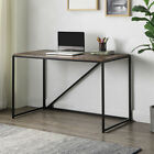 Home Office 46-Inch Computer Desk, Small Desk Home Office Study Desk Metal Frame
