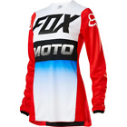 FOX WMN 180 FYCE JERSEY RED/BLUE