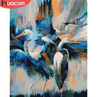 Oil Painting Bird Animals Gift DIY Decoration Home Crane Numbers By