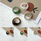 Ring Women's Retro Vintage Resin Jewelry Fashion Acrylic Party One Size Elegant