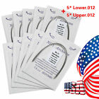 100PCS Dental Orthodontic Super Elastic Niti Round Arch Wires Ovoid 012-020UP/LW