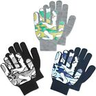 LUTHER PIKE Toddler Magic Stretch Winter Gloves Camo Size Size 3-5 Yrs 14cm
