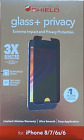 ZAGG InvisibleShield Screen Protector iPhone 6 6.1 6s 7 8 11 Pro Max XS Plus SE