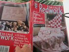 Купить Redwork Quilts and Embroidery Patterns, Penny Squares, Vintage, Nature, Choose
