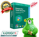 Kaspersky Total Security License 2021 [1 Year ] [ 1, 3, 5 Devices ] PC Antivirus