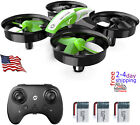 Mini Drone for Kids and Beginners RC Nano Quadcopter Indoor Small Helicopter Gif