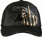 Spiral Direct BONE FINGER Baseball Cap/Hat/Skulls/Tribal/Tattoo/Goth cap/Dark