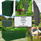 Outdoor Garden Furniture Covers Patio Table Chairs Parasol Cover Waterproof