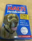 Halti Dog Head Collar Training Non-Pull Black Size 5 OLD PACKAGING SALE ITEM
