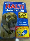 Halti Dog Head Collar Training Non-Pull Black Size 4 OLD PACKAGING SALE clicker