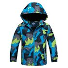 New Fashion Boys Kids Children Wind Trench Coats Outdoor Jackets Outwear Hoodies