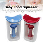 Manual With Reusable Pouch Baby Food Maker Infant Easy Clean Squeeze Station