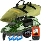 VERY100 500M RC Wireless Angling Bait Boat 3 Hoppers Bait Post,GPS Fishfinder UK