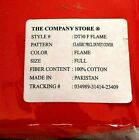 The Company Store FULL SIZE Percale Duvet Cover - 100% Cotton - * Choose Color *