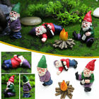 New Naughty Gnome Statue Garden Outdoor Decoration Diy Resin Ornaments Funny