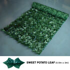 3M Artificial Hedge Ivy Leaf Garden Fence Wall Cover Roll Privacy Screen Balcony