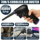 Cordless USB Air Duster Computer Blower Rechargeable Electric Easy Cleaner Tool
